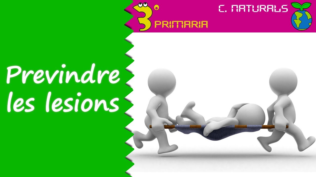 Ciències de la Naturalesa. 3r Primària. Tema 3. Compte amb les lesions