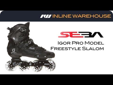 Seba Igor Pro Model Freestyle Slalom Inline Skates Review