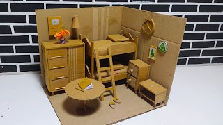 How To Make Miniature Rooms With Bunk Beds