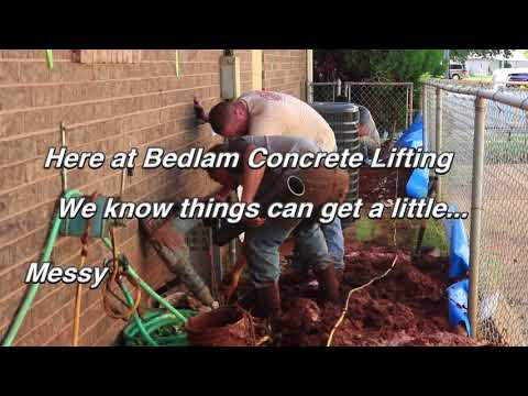 Here at Bedlam Concrete Lifting we want to leave our customers with a remarkable experience from start to finish...that means cleaning up after ourselves! We are out to upset the status quo of