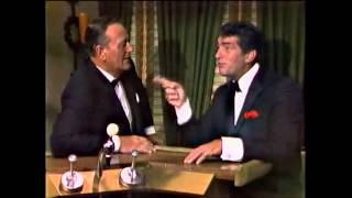 """Dean Martin & John Wayne have a talk and sing """"Don't Fence Me In"""""""