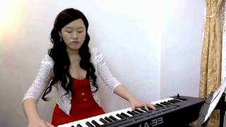 Silent night - Christmas song / carol - piano and voice Christmas music