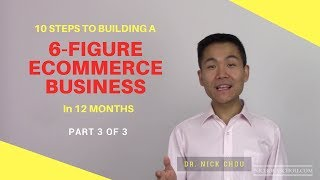 10 Steps to Building a 6-Figure Ecommerce Business in 12 Months [Part 3]