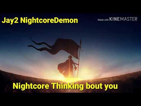 Thinking 'Bout You-Nightcore (Ariana Grande) - смотреть