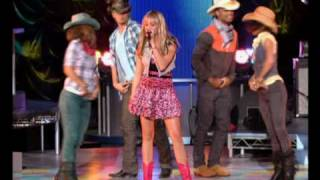 Hannah Montana | Ice Cream Freeze (Let's Chill) Music Video | Official Disney Channel UK