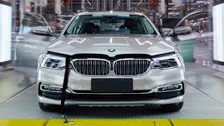 BMW 5 Series (2017) PRODUCTION LINE – German Car Factory