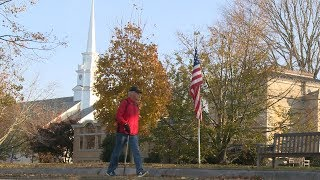 Stonington veteran walks 26.2 miles each Veterans Day