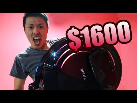 $1600 ELECTRIC UNICYCLE REVIEW | INMOTION V10 V10F (2018)
