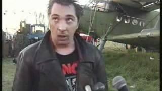 Михаил Горшок  даёт интервью