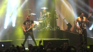 (HD) So Long Soldier - All time low glasgow O2 academy march uk tour 2014