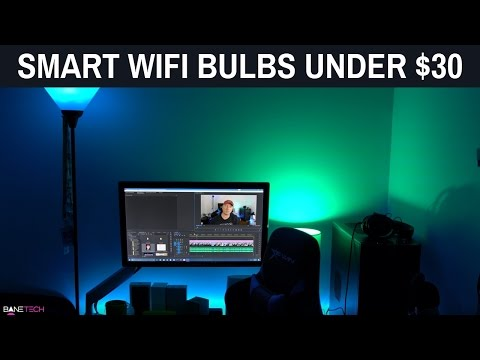 Smart WiFi Light Bulbs Review – Under $30! iPhone & Android