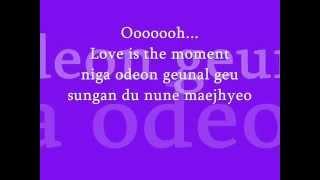 Gambar cover Moment (changmin) Lyrics