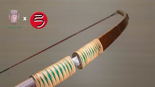 Making a removable bamboo bow | bow and arrow #057