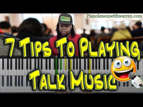 #103: 7 Tips To Playing Talk Music - From Beginner To Advanced