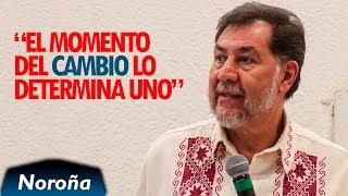 Estamos Obligados a Defender Nuestra Libertad - Noroña en Morelia.