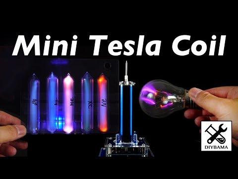 Mini Musical Tesla coil