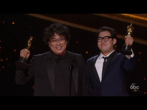 Bong Joon-ho wins South Korea's first Oscar for Parasite
