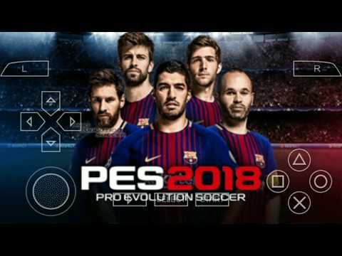 how to download pes 18 for ppsspp with last transferts & high graphics - android