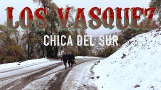 """Los Vasquez - Chica del Sur (Video Oficial)  SPOTIFY: https://open.spotify.com/album/1fbHMYNcXf1P7RxPZ7aqtF  TIDAL: https://tidal.com/browse/album/147209597  DEEZER: https://www.deezer.com/es/album/158383012  Sitio oficial: http://www.losvasquez.cl Facebook: https://www.facebook.com/losvasquezpopcebolla Twitter: http://twitter.com/losvasquez Instagram: http://instagram.com/losvasquezoficial  """"Chica del Sur"""" Autores y compositores: Italo Vasquez/ Enzo Vasquez  Eres tu Impredecible como el tiempo Vas de la mano con el viento Y de la lluvia también Eres tu Con tus mejillas de rosa que el frío invierno roza Y la escarcha también  Eres tu chica del sur Tu pelo suelto, el cielo azul Caminas por el temporal y esa sonrisa y tu mirar Eres tu chica del sur Aire fresco, nieve tu Es esa forma de hablar Ese cantito al final, me enamora  Eres tu  una fría noche de estrellas Mezcla de agua y madera olor a ciprés Eres tu así como es la marea Que a naufragar me condena Si no tengo tu amor  Eres tu la que me quita el sueño, siempre cada noche Eres tu, mas bella que el invierno hay nadie como tu  Eres tu chica del sur Tu pelo suelto, el cielo azul Caminas por el temporal y esa sonrisa y tu mirar Eres tu chica del sur Aire fresco, nieve tu Es esa forma de hablar Ese cantito al final, me enamora   Music video by Los Vasquez performing Chica del Sur. ©️ 2020 Sello del Sur Chile"""