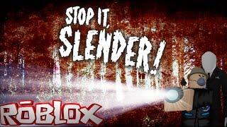 ПУГАЮЩИЙ СЛЕНДЕРМЕН В РОБЛОКС Roblox Stop it Slender побег от страха детские ужастики Пугающий сленд