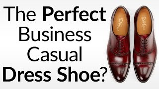 Perfect Business Casual Dress Shoe? | How To Match Semi-Brogue & Half-Brogues Oxfords