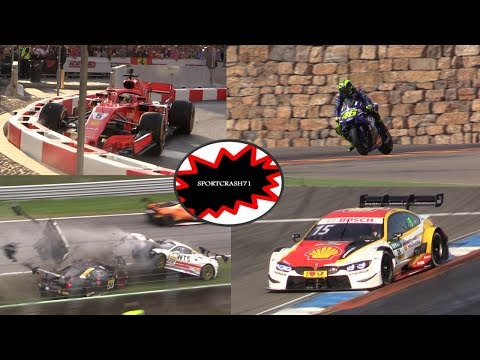 Best of Motorsport Moments in 2018-Amazing Sounding Cars,Big Crashes,Action & More