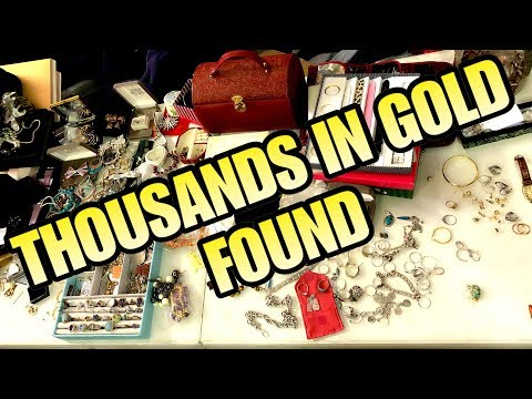 THOUSANDS IN GOLD HUGE PROFIT FROM $1500 STORAGE LOCKER!  I bought an abandoned storage unit