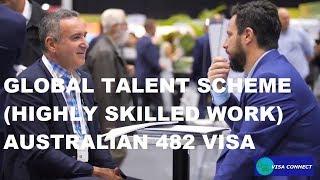 GLOBAL TALENT SCHEME (HIGHLY SKILLED) TSS 482 VISA - AUSTRALIA