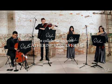 Me playing a pop song mash-up with my String Quartet!