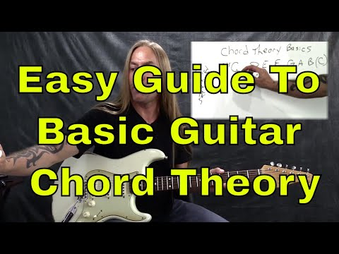 Easy Guide To Basic Guitar Chord Theory - Steve Stine Guitar Lesson | GuitarZoom.com