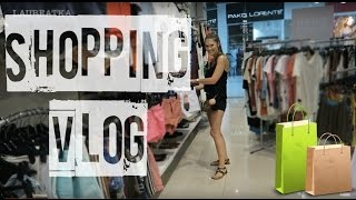 VLOG: ШОППИНГ влог. ПОКУПКИ одежды H&M, MANGO  | LAUREATKA