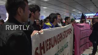 Germany: Activists take over Munich airport to protest Afghan deportation