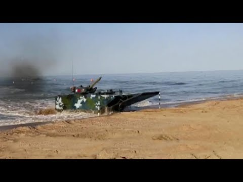 Chinese firm built 'fastest' amphibious assault vehicle