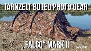 """Tarnzelt: Buteo Photo Gear - """"Falco - Mark II"""" zur Wildlife-Fotografie in liegender Position"""