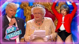 Best Impersonators on Got Talent & X Factor | Top Talent
