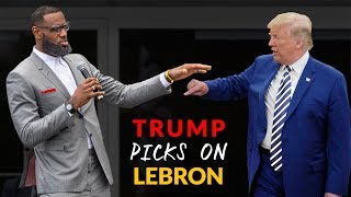 "DONALD TRUMP Clowns On LEBRON JAMES New ""I Promise School"""