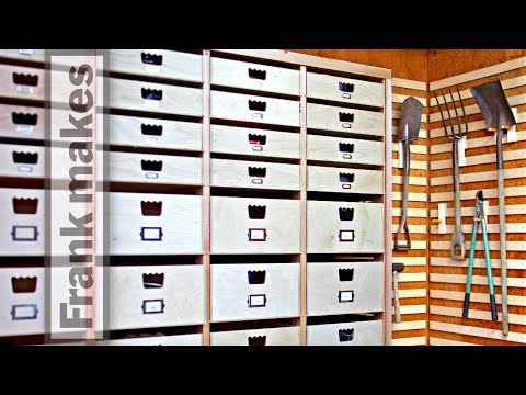 Frank Howarth: Garage Storage Drawers Part 2 [13:42]