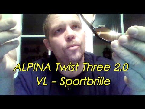 Sonnenbrille, Skibrille, Sportbrille, Fahrradbrille ALPINA Twist Three 2.0 VL