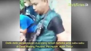 VIDEO - Detik-detik Penangkapan Bandar Sabu 60 Kg di Peureulak Aceh Timur