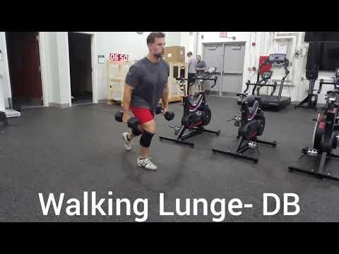 Walking Lunge- DB