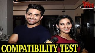 Download Video EXCLUSIVE: Neil and Avni's take the COMPATIBILITY TEST MP3 3GP MP4