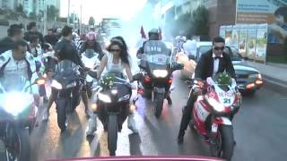 Wedding convoy :)
