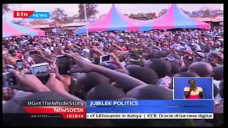 NewsDesk: William Ruto urged residents of Ukambani to support the Jubilee Party