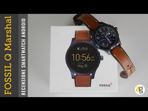 RECENSIONE Fossil Q Marshall orologio Android Wear