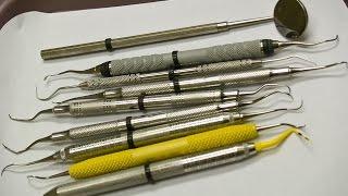 Из чего состоит стоматологический лоток  Весь набор стоматологических инструментов