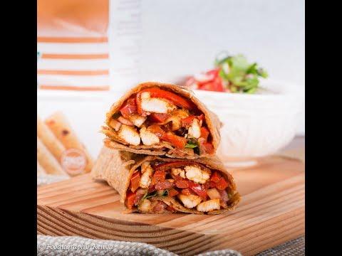Chicken Chapati Roll
