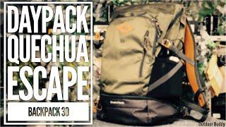 Rucksack Quechua N-HIKING 30 für Tagestouren und Ultra-Leicht Übernachtungen