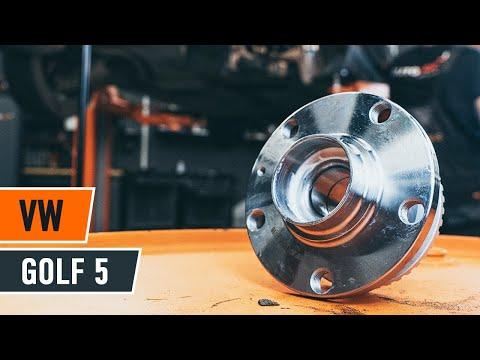 Wie VW GOLF 5 Radlager hinten wechseln [TUTORIAL AUTODOC]