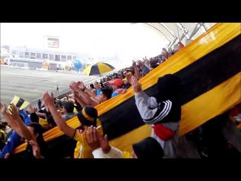 """""""Ultra Kanarios vs Amargos"""" Barra: Ultra Kanaria • Club: San Luis de Quillota"""