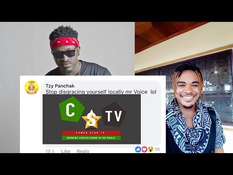 """Blaise B """"Stop Disgracing Yourself Locally Mr Voice """" Tzy Panchak Claps Back @CamerStarTV"""